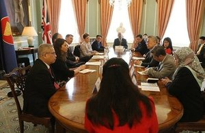 Jeremy Hunt and Mark Field meet ASEAN Ambassadors and High Commissioners at the FCO