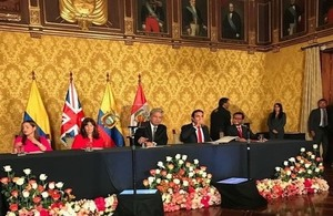 ministers signing agreement