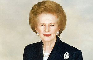 Baroness Thatcher 1925-2013. Photo provided by Chris Collins of the Margaret Thatcher Foundation http://ow.ly/jR9GL