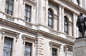 The Foreign Office, King Charles Street: Crown Copyright.