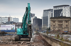 HS2 breaking ground at Curzon Street site