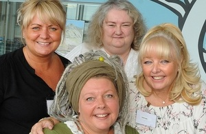 Representatives from the LLWR team with Dawn and Jackie from Give Us A Break 2010