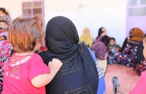 Girls and women at a safe space in Syria run by UNFPA. Picture: UNFPA