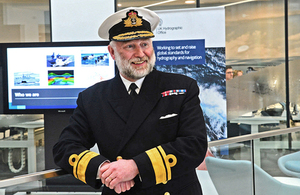 UKHO Chief Executive Rear Admiral Tim Lowe CBE