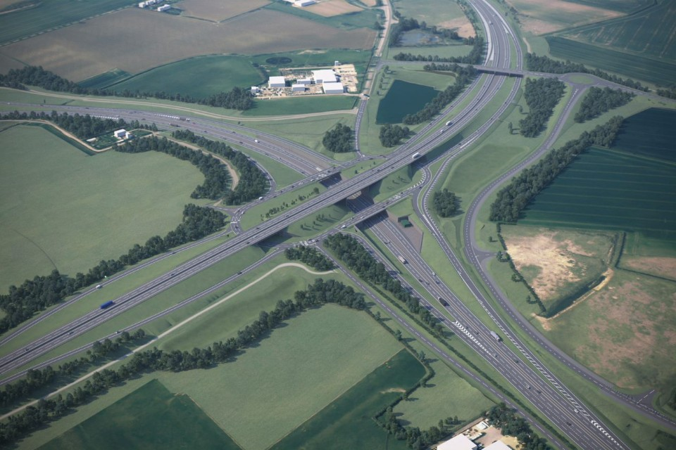 The Black Cat roundabout - how it will appear once the transformation is complete