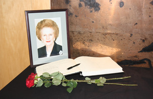 A Book of Condolences Baroness Thatcher