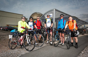 Sellafield Ltd's active cycling group