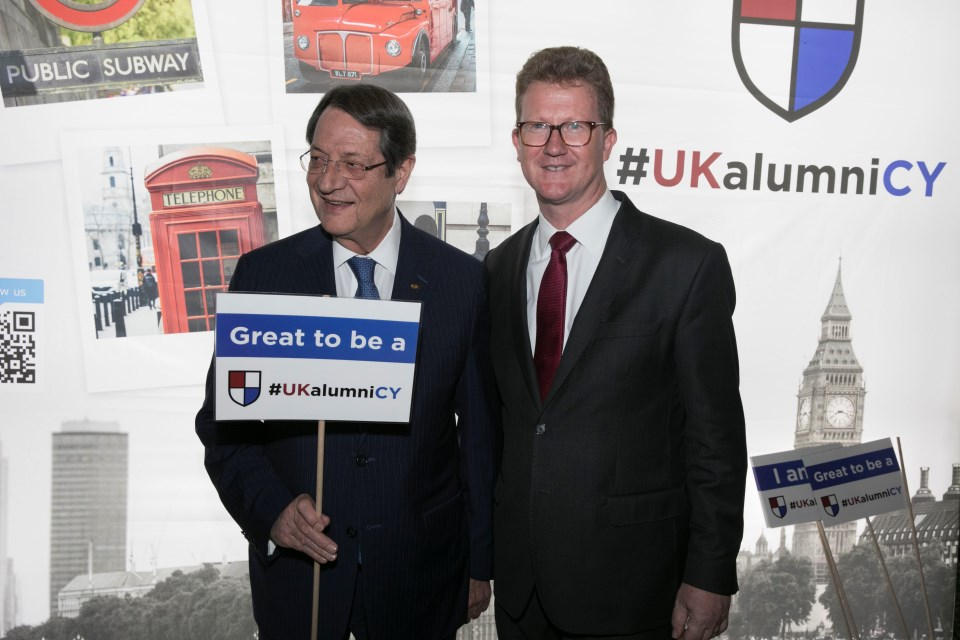 UK university, alumni corner