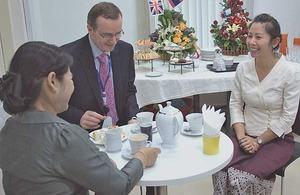 Past Chevening Scholars gather at new British Embassy