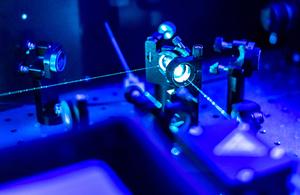 Quantum laser.
