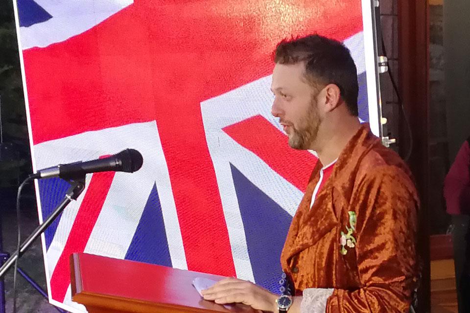 Jeff Glekin, HM Ambassador to Bolivia