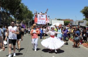 UK participation in a Pride parade