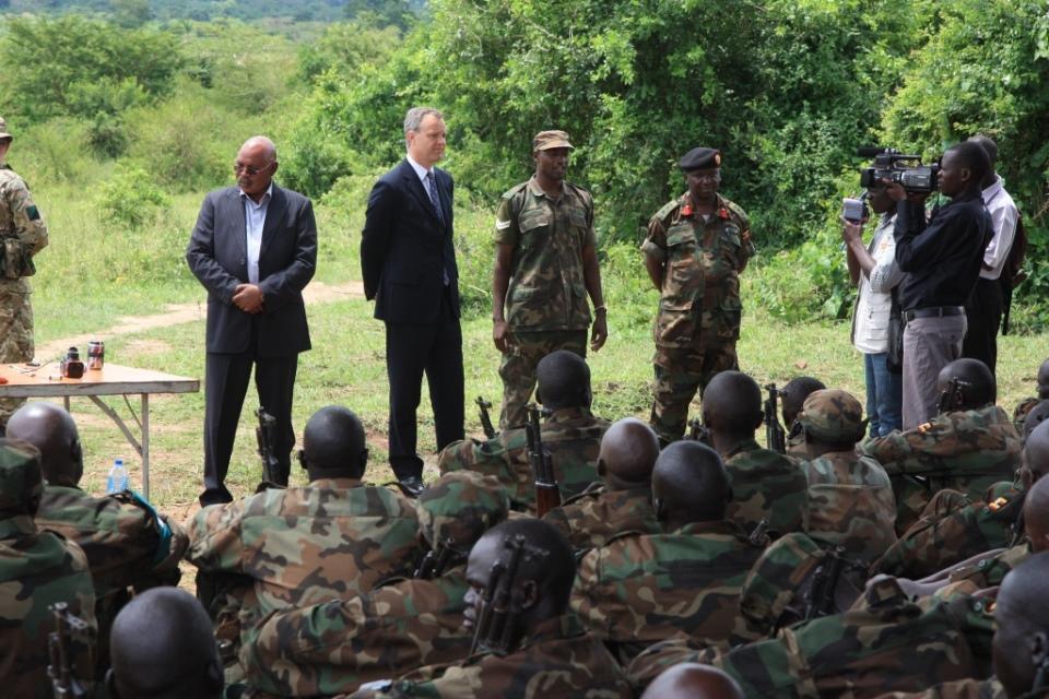 Mark Simmonds visits Singo in Uganda