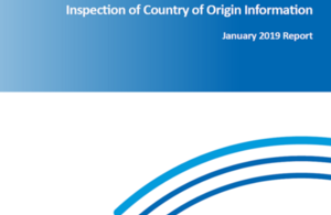 COI January 2019 report cover