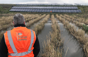 More Sustainable Way To Refurbish Reed Beds Is Trialled Gov Uk