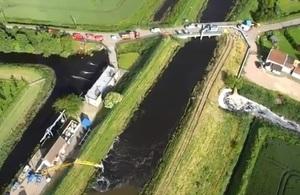 Aerial view of Wainfleet