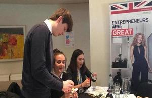 NTAP students creating products to export