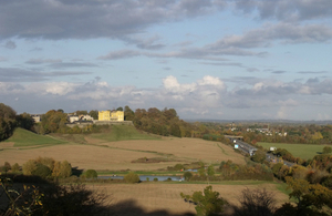 Image showing the Stoke Park landscape on the outskirts of Bristol