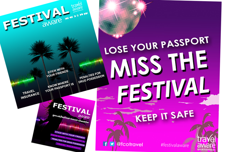 Travelaware - Hassle-free music festivals abroad