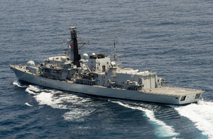 HMS Kent (stock image) [Picture: Leading Airman (Photographer) Jay Allen, Crown copyright]