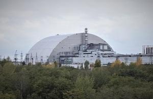 Chernobyl New Safe Confinement site