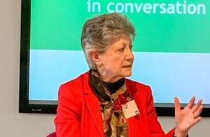 Dame Fiona Caldicott the National Data Guardian for Health and Social Care
