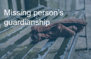 Missing person's guardianship
