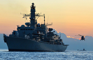 HMS Monmouth (stock image) [Picture: Leading Airman (Photographer) Ben Shread, Crown copyright]