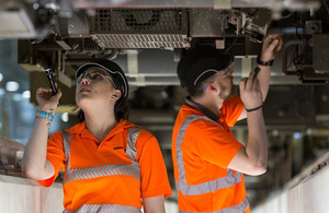TfL apprentices at work