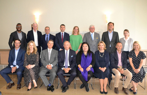 A team picture of the Global Resource Initiative taskforce at their first meeting