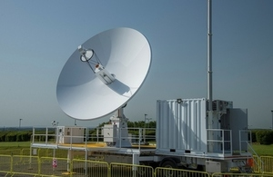 Dstl's satellite ground control station