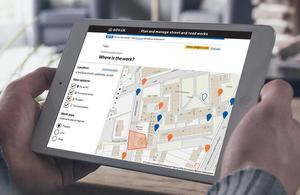 Street Manager website.
