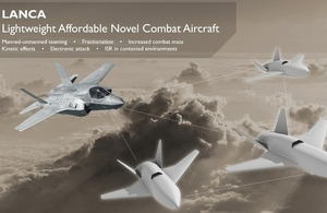 CGI images of lightweight unmanned aircraft