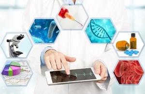 point of care diagnostics concept image
