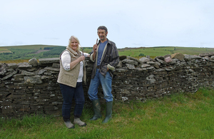 Ruth and Andrew Davies, founders of Cwmfarm Charcuterie