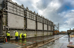 The Pile Fuel Cladding Silo on the Sellafield site