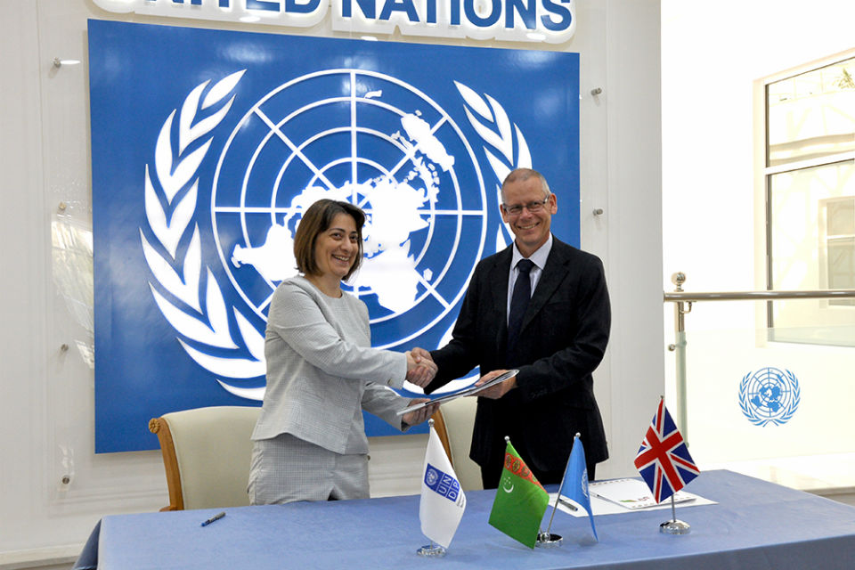 British Embassy Ashgabat supports human rights projects