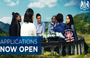 chevening scholarship open for application