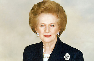 Lady Thatcher - Photo provided by Chris Collins of the Margaret Thatcher Foundation http://ow.ly/jR9GL