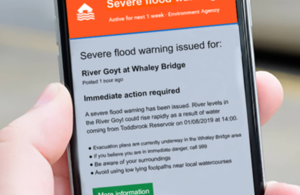 Google public flood alerts