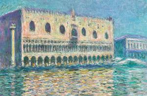 Claude Monet 'Le Palais Ducal'