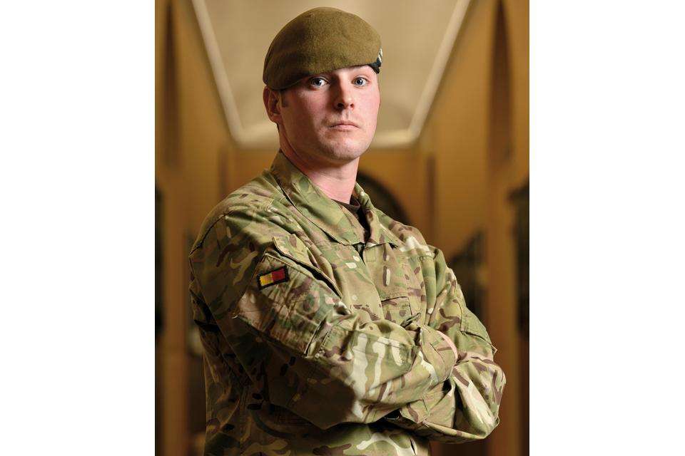 Lance Corporal Lawrence Kayser
