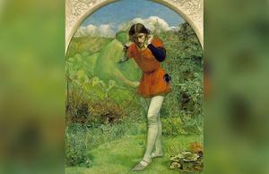'Ferdinand Lured by Ariel', Millais