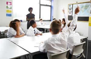 Classroom teacher and pupils