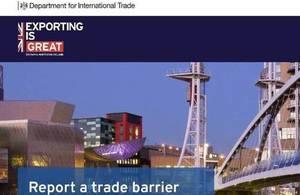 trade barrier online tool
