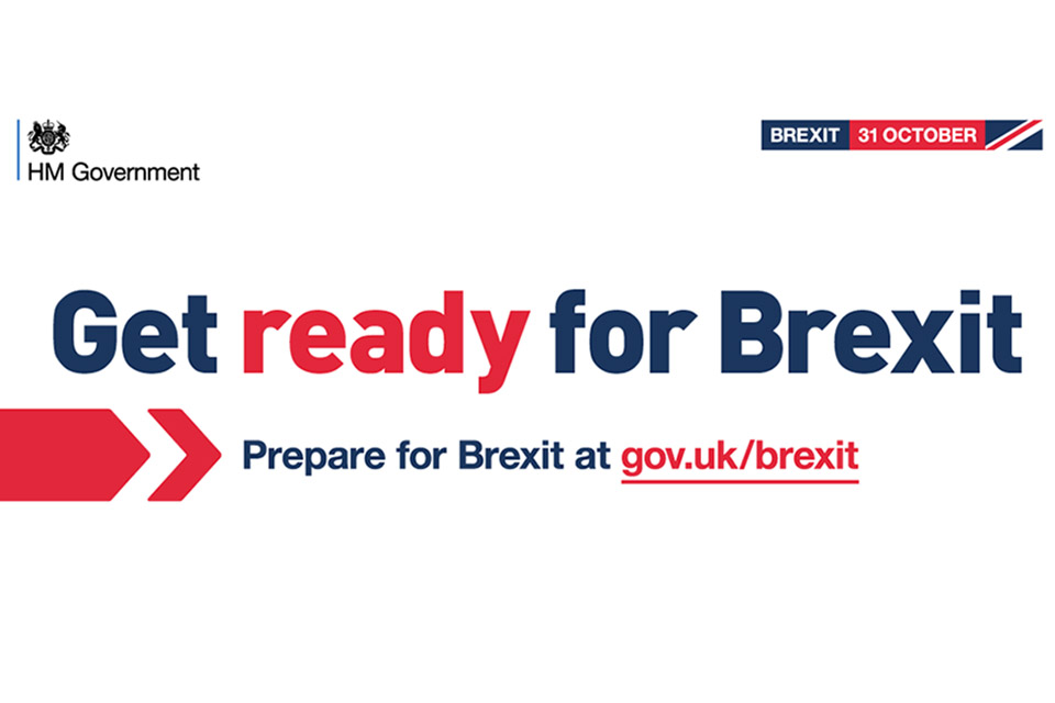 Get ready for Brexit.