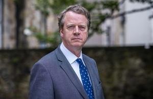 Secretary of State for Scotland, Alister Jack