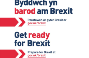Text: Be ready for Brexit.