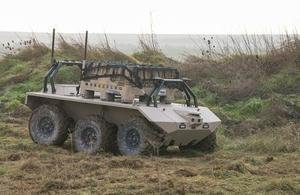 MIRA ground combat vehicle