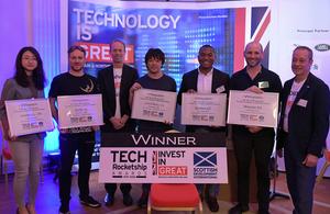 日本の革新的なフィンテック企業5社にアワードを授与